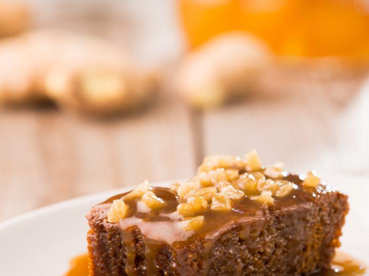 Burtree Puddings ginger pudding