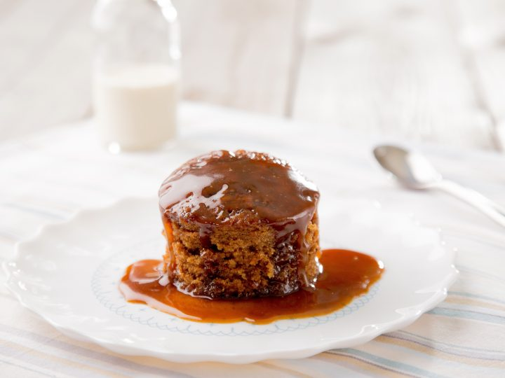 Burtree Gluten-free sticky toffee pudding