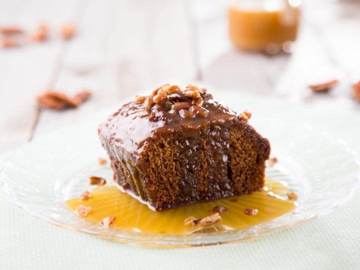Burtree Rich Toffee Pudding with pecans